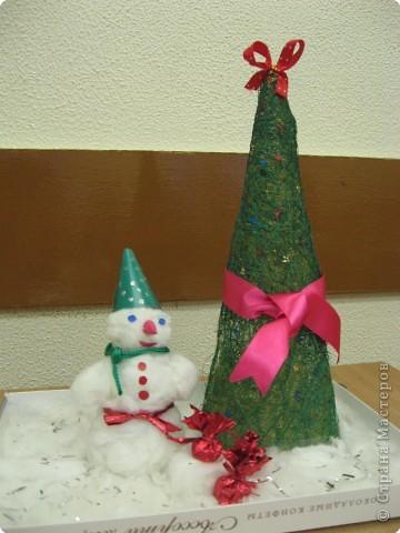 Ёлочка и снеговик