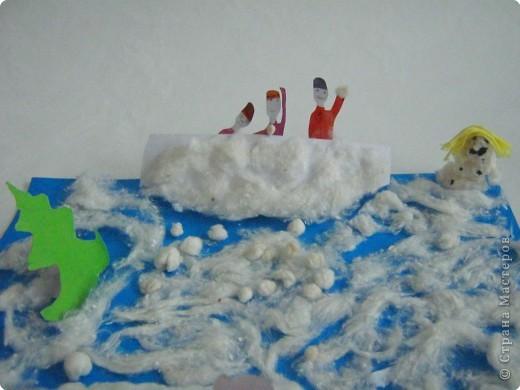 Игра в снежки фото 1