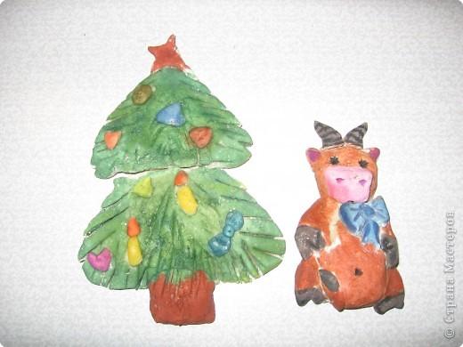У новогодней елки