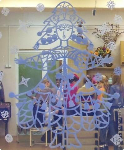 новогодняя витрина фото 1