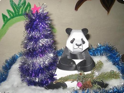 Ёлочка и панда