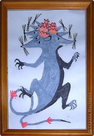 Сказка про Мышку с Зонтиком или волшебный Зонтик, поделка-иллюстрация, поделка «Мышиный король», поделка «Мышка с колосками» фото 2