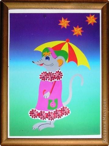 Сказка про Мышку с Зонтиком или волшебный Зонтик, поделка-иллюстрация, поделка «Мышиный король», поделка «Мышка с колосками» фото 3