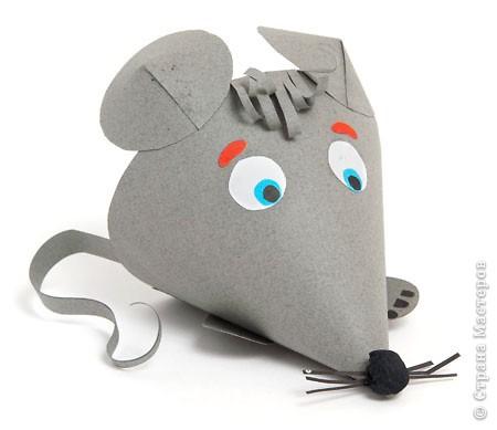 Мышонок из конусов