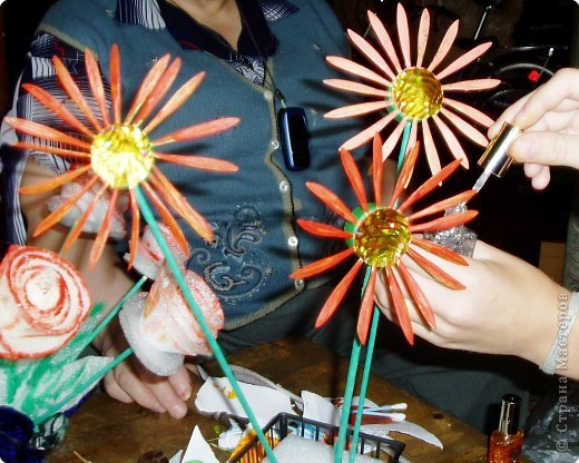 Солнышки - цветочки
