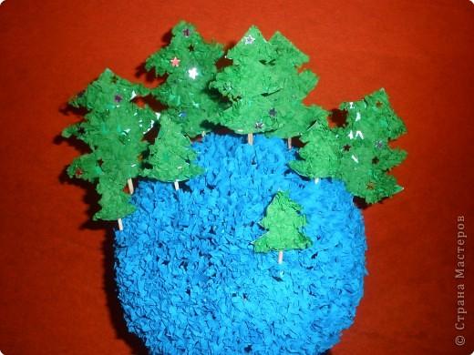 Планета зелёных ёлочек.