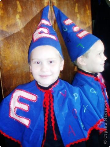 Костюм «БУКВЫ» для любимого братишки Егорки фото 2