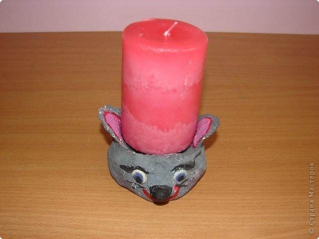 Подсвечник «Мышка»