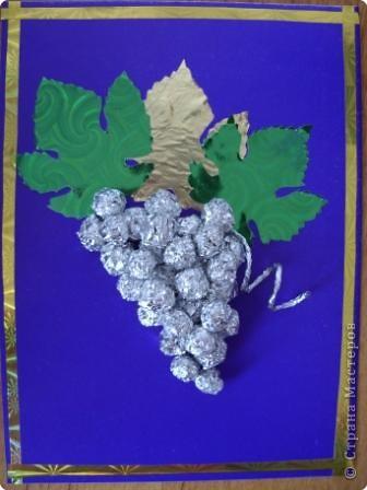 У нас вырос такой виноград фото 1