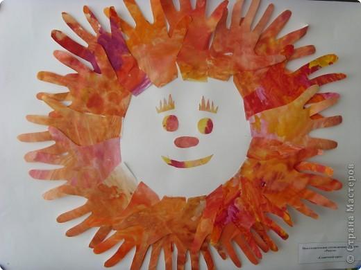 Вот какое солнышко создали наши мальчишки.  фото 1
