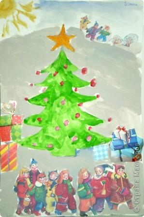 """Сказка """"Рождественская елка"""""""