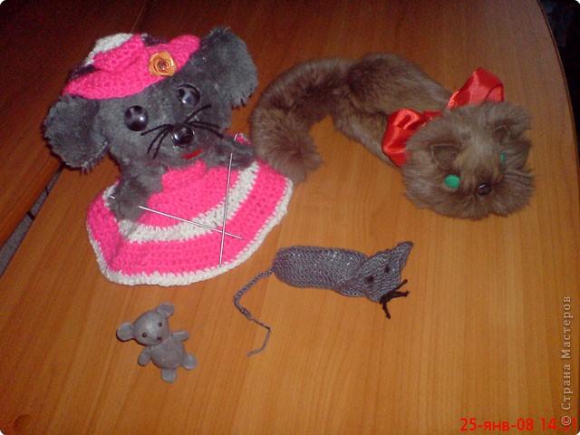 Сказка «Мышка-рукодельница»