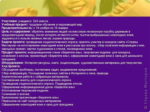 """Презентация проекта-акции """"Берегите ель!"""" фото 2"""