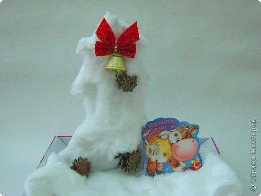 Снежная елочка