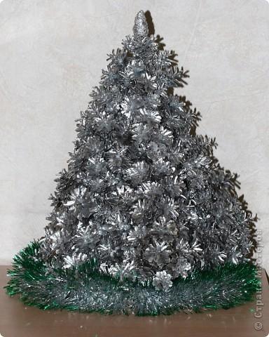 Серебряная ель Костромской снегурочки