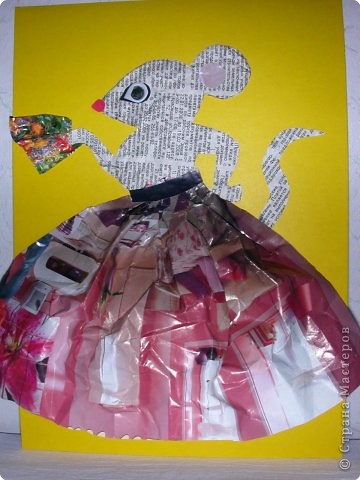 Мышка – барыня