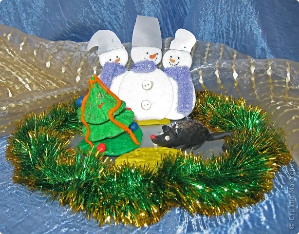 Новогодний крысиный пир