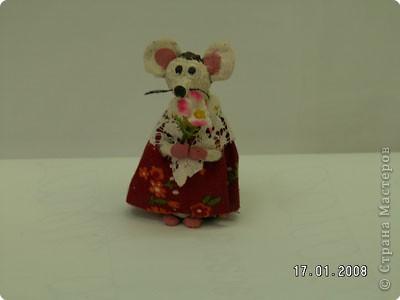 Мышка мама