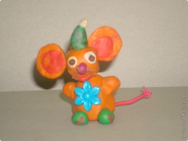 Мышка-гномик