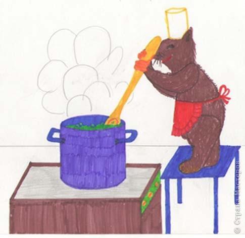 Мышка-повар фото 1