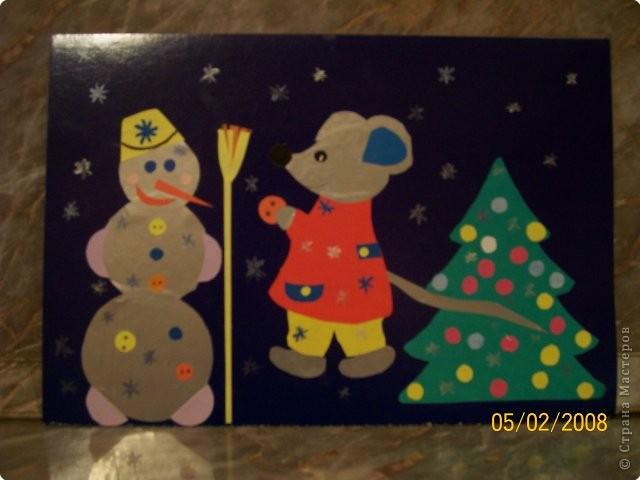 Мышка и снеговик