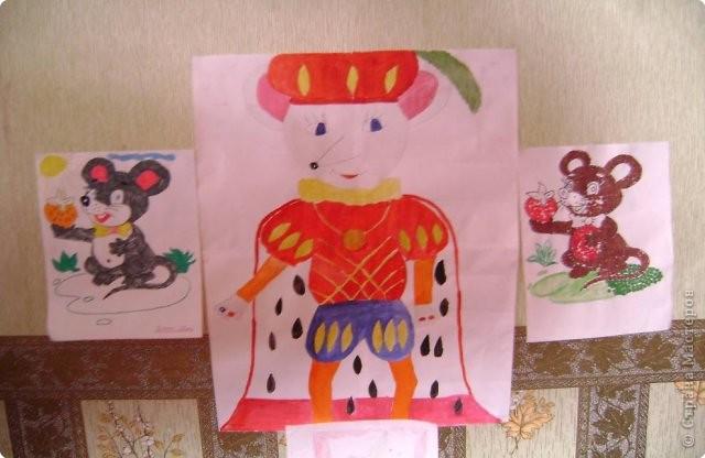 Объемная композиция «Мышиное королевство» фото 3