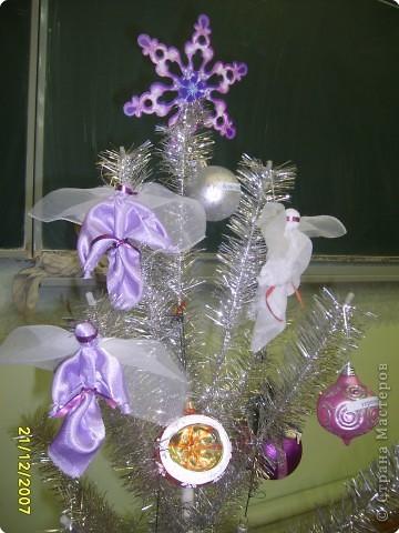 Рождественский ангел - ёлочное украшение фото 2