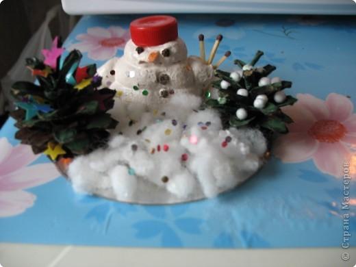 Снеговик заблудился.