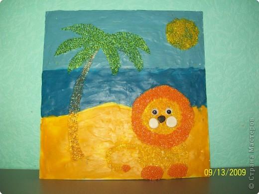 Лето - это солнце, песок и пальмы.