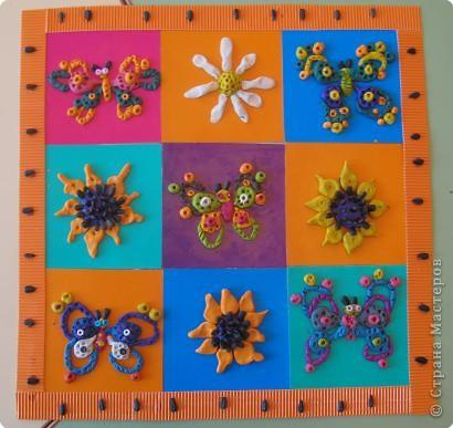 """ковер """"Лето бабочек и цветов"""""""