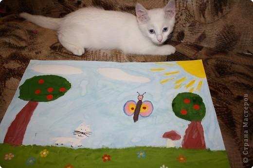 Так мы с котенком о лете вспоминали! фото 1