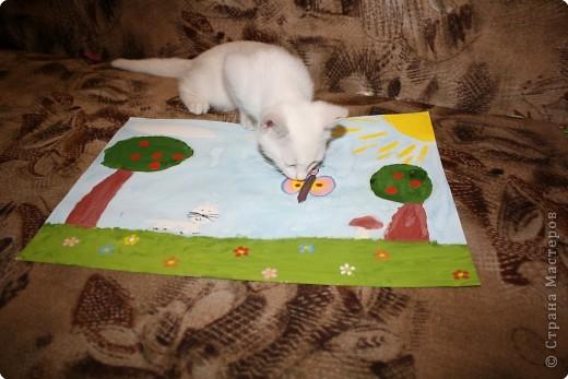 Так мы с котенком о лете вспоминали! фото 4