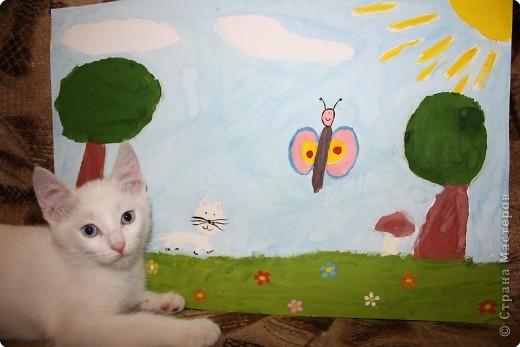 Так мы с котенком о лете вспоминали! фото 5