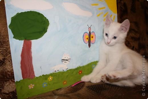 Так мы с котенком о лете вспоминали! фото 6
