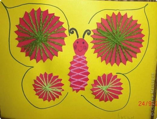 Вот такая бабочка получилась у Артема фото 1