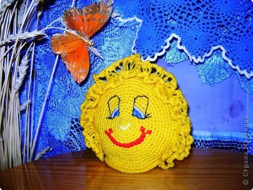""""""" Солнечный Колобок"""", (мягкая игрушка), Ходыкин Никита, 8 лет, с.Михайлоавское, Алтайский край"""