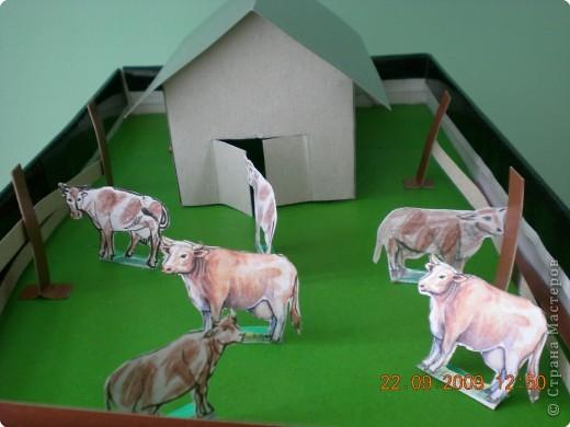 Как сделать из бумаги ферму животных в