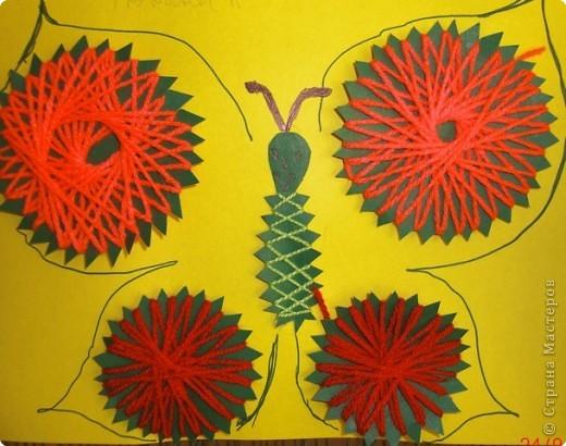 Вот такая бабочка получилась у Артема фото 2