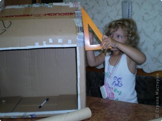 Общий вид дачной усадьбы для кукол фото 7