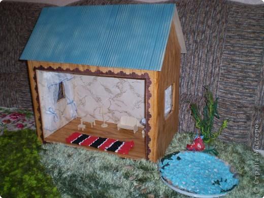 Общий вид дачной усадьбы для кукол фото 1
