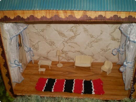 Общий вид дачной усадьбы для кукол фото 4