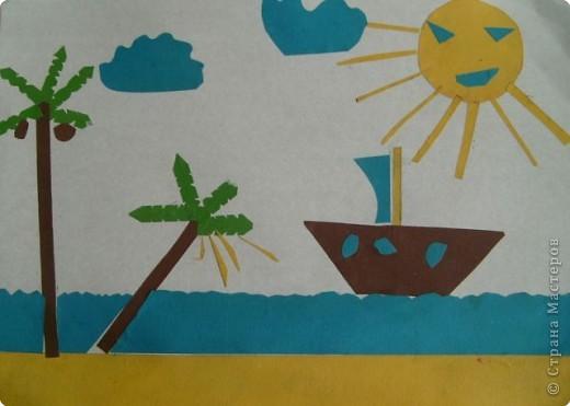 Кораблик и солнышко