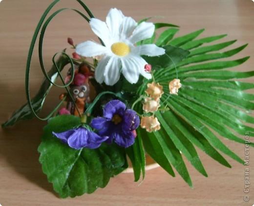 Сверчок и цветы фото 1