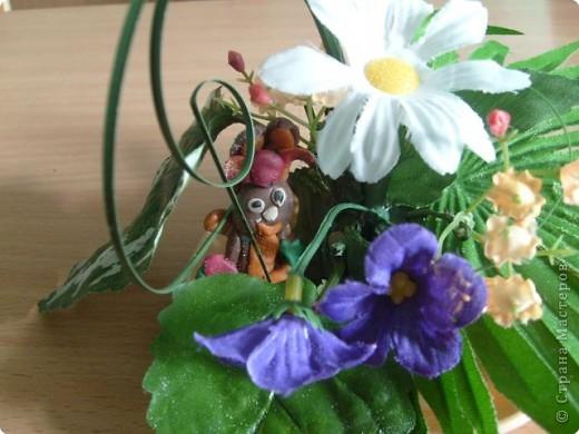 Сверчок и цветы фото 2