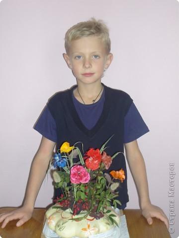 Попробуйте догадаться, из чего сделаны эти розы фото 4