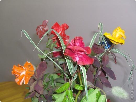 Попробуйте догадаться, из чего сделаны эти розы фото 2