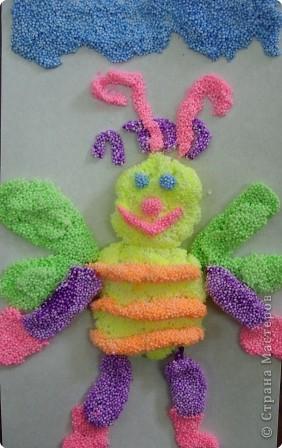 Трудолюбивая пчелка фото 1