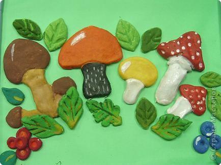 В чудном северном лесу грибы,ягоды беру