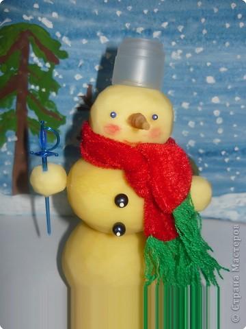 Летний Снеговик