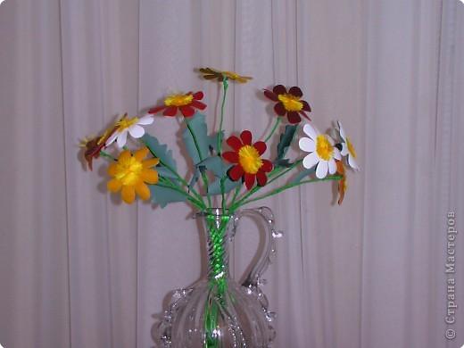 Цветы для любимой учительницы.